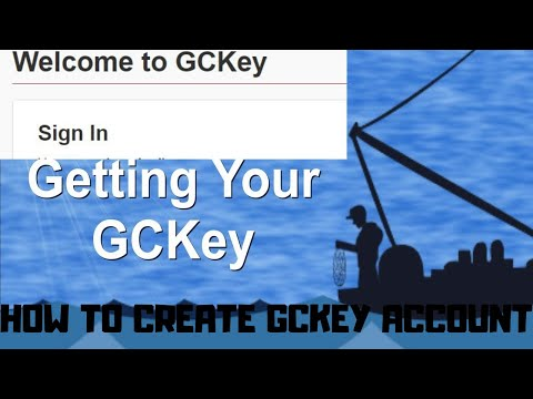 How To Create GcKey Account 2020