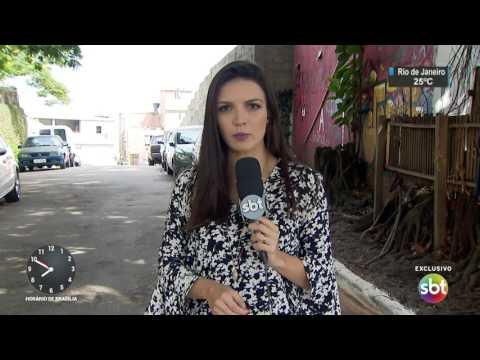 Exclusivo: Imagens mostram execução de assaltante em São Paulo - SBT Brasil (10/04/17)