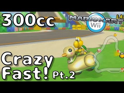 Crazy Fast Racing pt.2! - Skipper's 200km/h Pack Online! (300cc) - Feat. Troy, NMeade and others!
