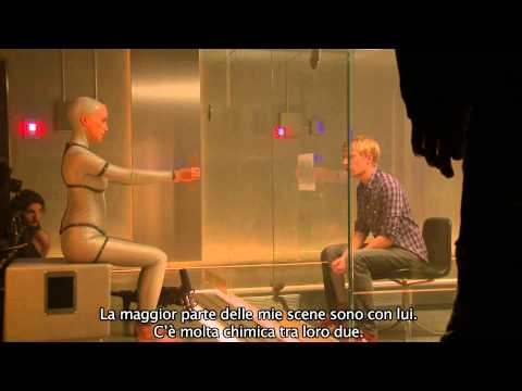 Il cast di EX_MACHINA (sottotitoli in italiano)