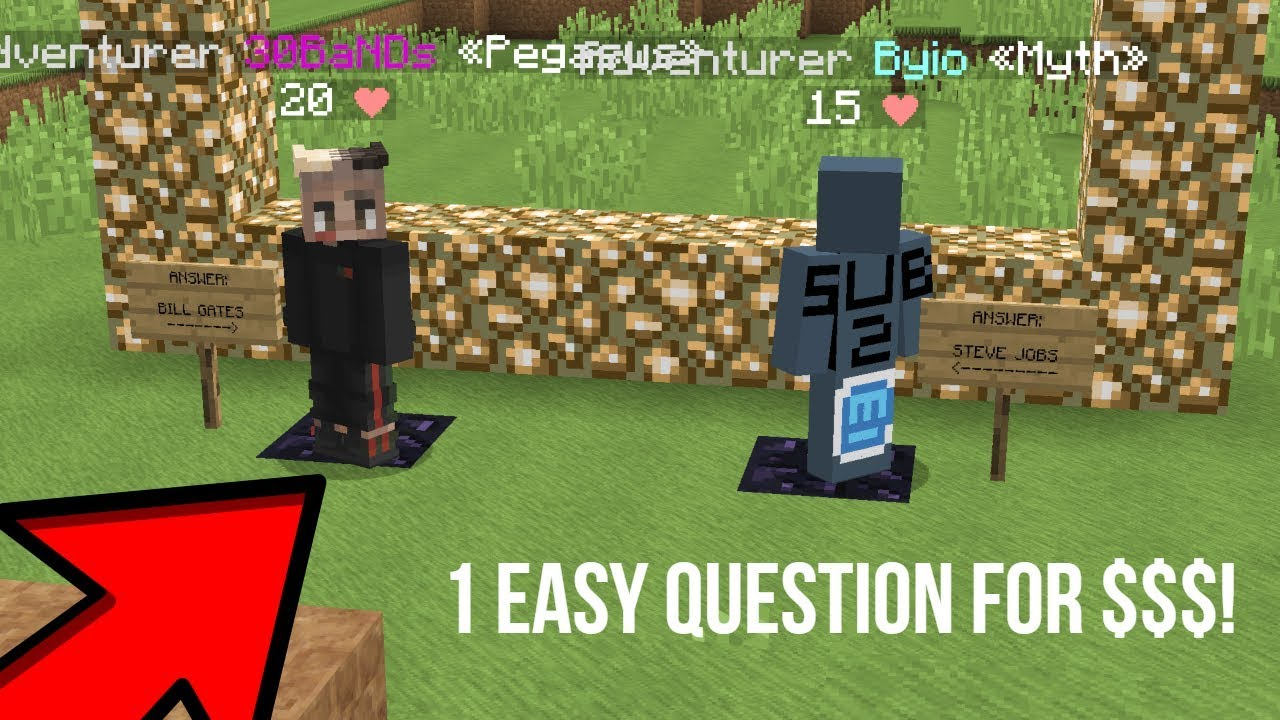 ANSWER THIS SIMPLE QUESTION AND I'LL PAY YOU 100K    | SaicoPVP Factions |  Overlord Realm [S4] [6]