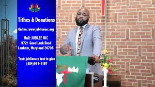 Jubilee UCC  Online Sunday Service September 27, 2020   HD 720p