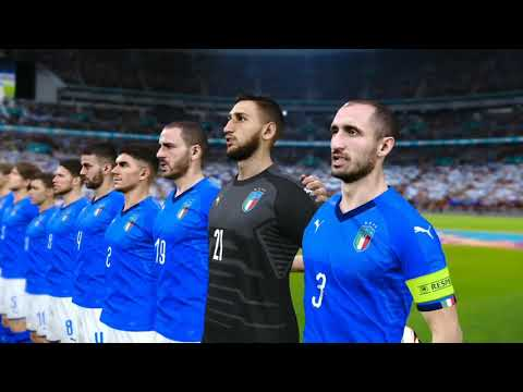 UEFA EURO 2020 Italy vs Austria Live Football with images Pes 2021