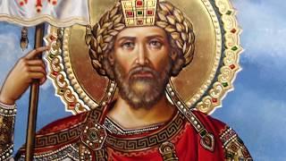 Сумская Икона Святой Равноапостольный Царь Константин Обзор Готовой Работы Написанной Иконописцами