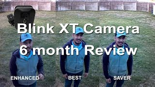 Blink XT Weatherproof WiFi Camera Update After 6 months