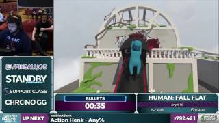 Human: Fall Flat by bullets in 8:44 - Awesome Games Done Quick 2017 - Part 137