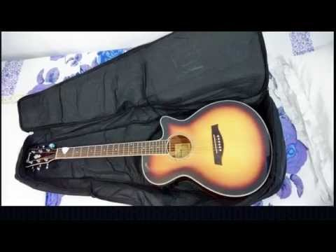 ibanez aeg10ii electro acoustic guitar sunflame burst unboxing youtube. Black Bedroom Furniture Sets. Home Design Ideas