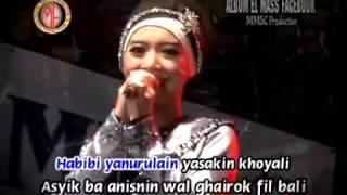 """RENA KDI  """" HABIBI YA NURUL AINI """"  ELMASS QOSIDAH DANGDUT"""