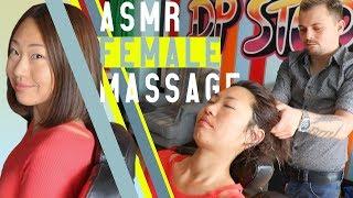 ASMR MASSAGE | ASMR HEAD MASSAGE * ASMR FEMALE MASSAGE FOR HEALTH AND BEAUTY * リラックスさせるマッサージ