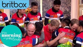 The Thai Cave Boy's Emotional Thank You to Divers | This Morning: This Week | BritBox