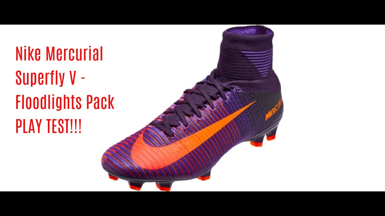 88f033868 Play Time: Nike Mercurial Superfly V Test - The Instep