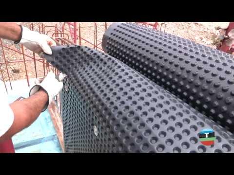 Дренажная мембрана: как правильно использовать для устройства садовых дорожек