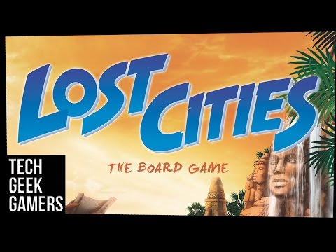Let's Play Lost Cities - Board Game Play Through