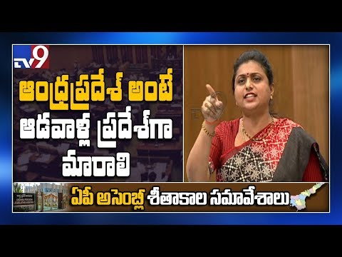 AP Assembly: TDP is not committed for the welfare of women - MLA Roja - TV9