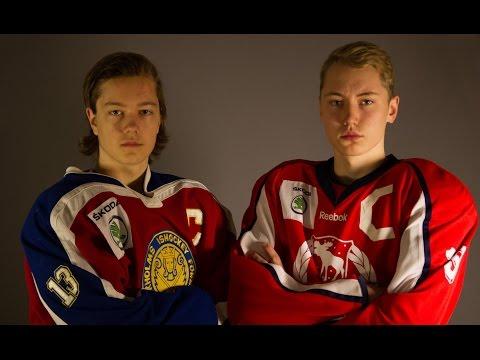 TVP15: Uppsnack inför kvarten med kaptenerna Simon Lundmark (STN) och Martin Johannesson (GÄS)