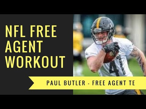 Free Agent Tight End Paul Butler | NFL's Next Up