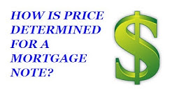 How is the price determined for a mortgage note trust deed land contract for sale?