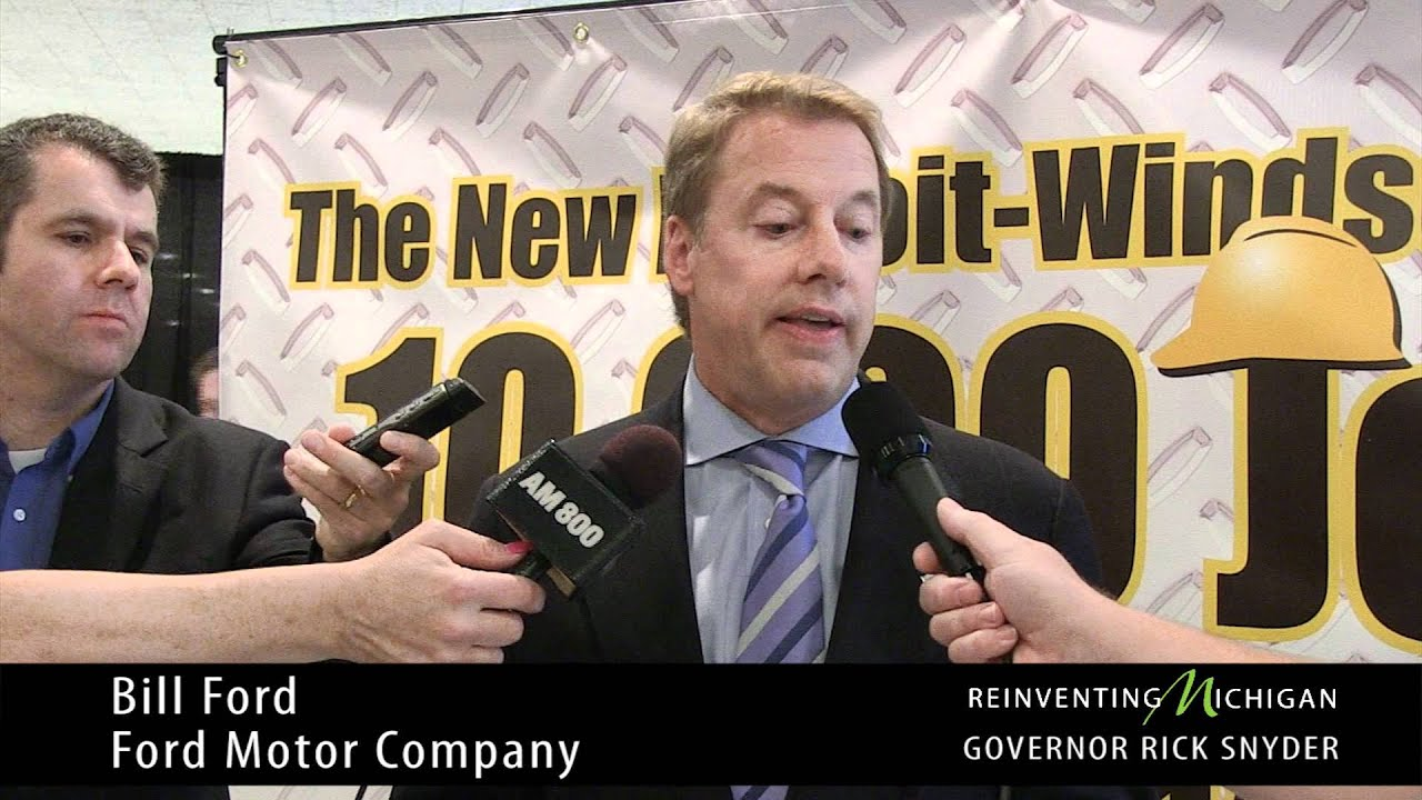 Bill ford explains how the new bridge between detroit and for Ford motor company news