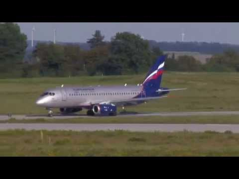 Aeroflot Sukhoi Superjet 100 @ 16th September 2012 in DRS