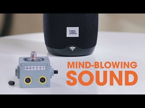 "JBL Link Voice-Activated Wireless Speaker with Google Assistant | ""Bobblehead"""