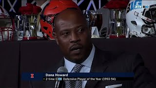 Dana Howard on Finding Out About Joining the CFB Hall of Fame