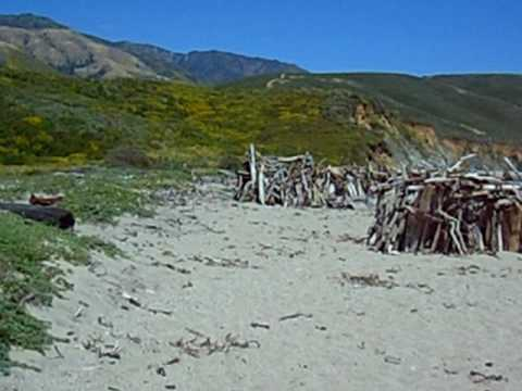 Beach Art - Big Sur