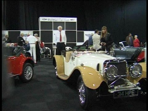 The Panther Car Club Stand Footman James Manchester Classic Car