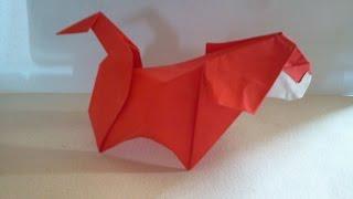 Origami Dog (origami)