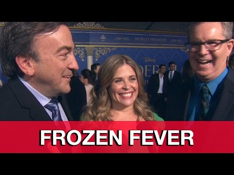 Frozen Fever Interview - Directors Chris Buck, Jennifer Lee & Producer Peter Del Vecho
