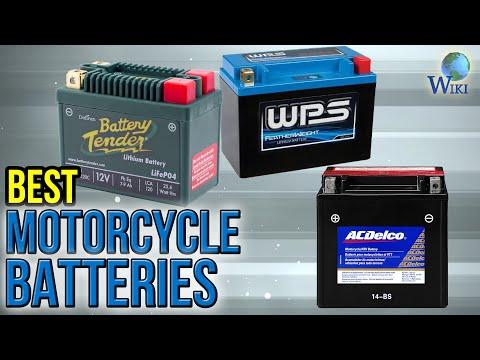 10 Best Motorcycle Batteries 2017