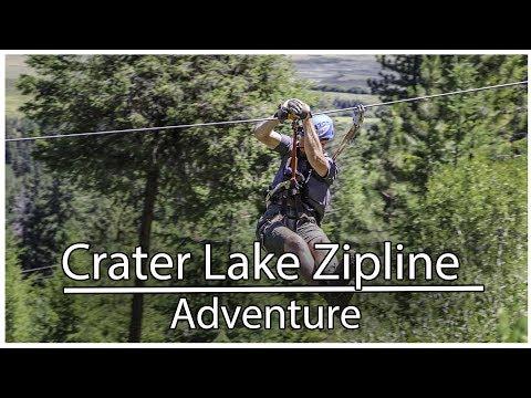 Crater Lake Zipline Adventure