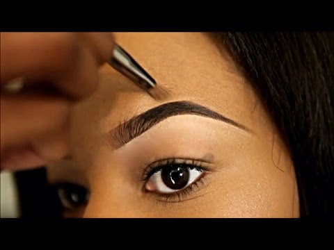 How To: Quick & Easy Eyebrows [Sadé Ogun]