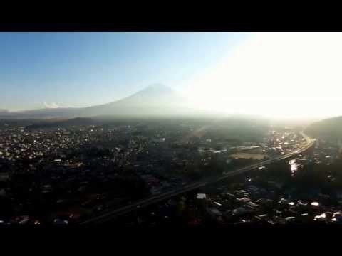 富士吉田ですよ 天気だね~ 12月1日