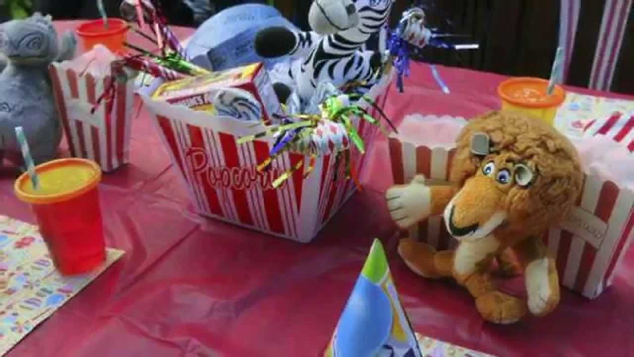 diy at home circus themed 1st birthday party for kids youtube