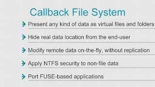 Introduction to Callback File System