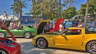 Corvette Car Show (St. Armands Circle, Sarasota FL)