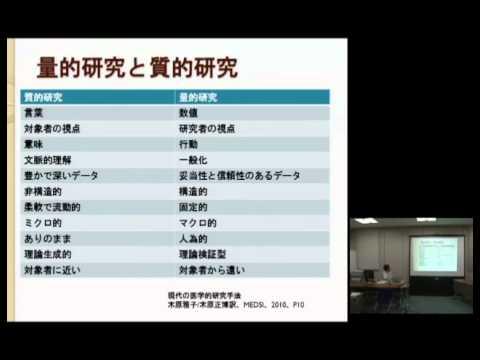 11th KYOTO UNIV.MEDICAL EDUCATION INTERACTIVE SEMINAR 菊川誠 先生