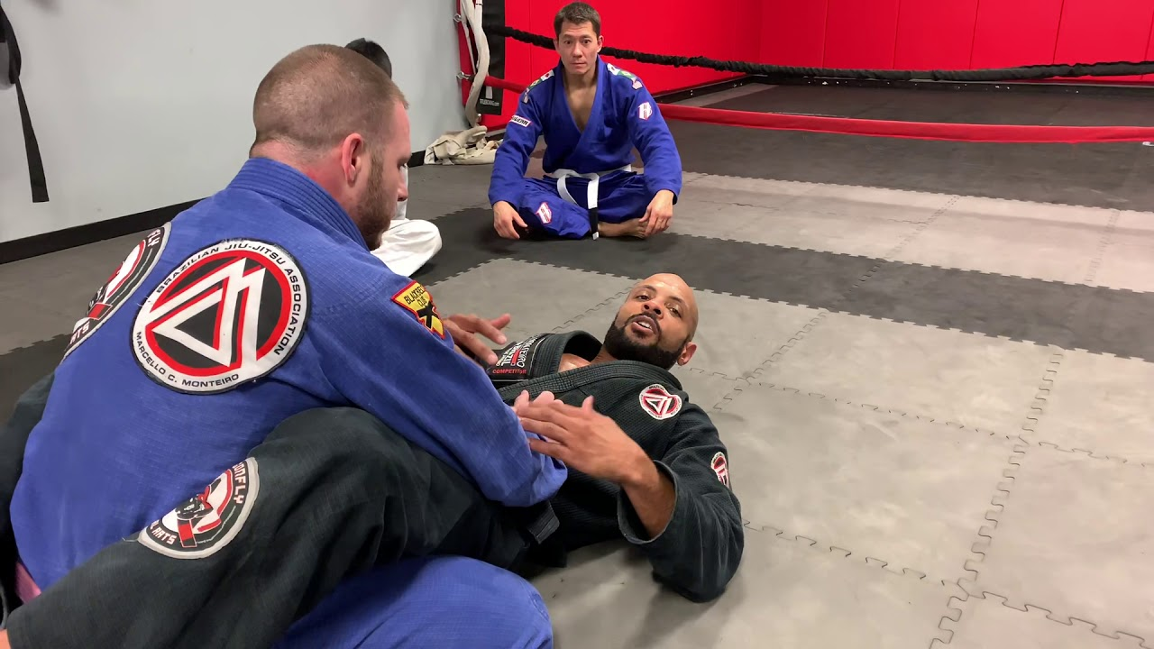 Brazilian Jiu Jitsu- Coach Kenny's Back Attack of the Day