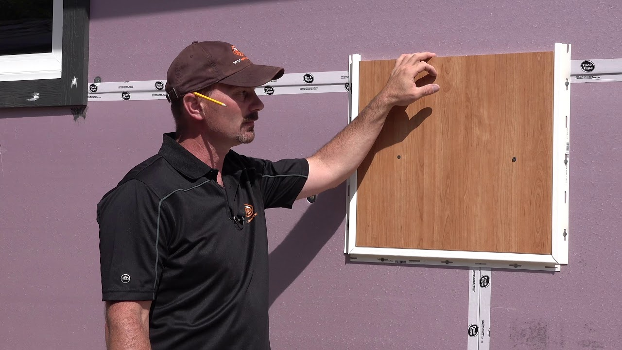 How To Install J Channel Vinyl Siding Youtube