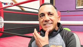 HEAD COACH OF GOLDEN GLOVES, WAYNE SMITH: TALKS RETURN OF MARCEL BRAITHWAITE TO HIS GYM