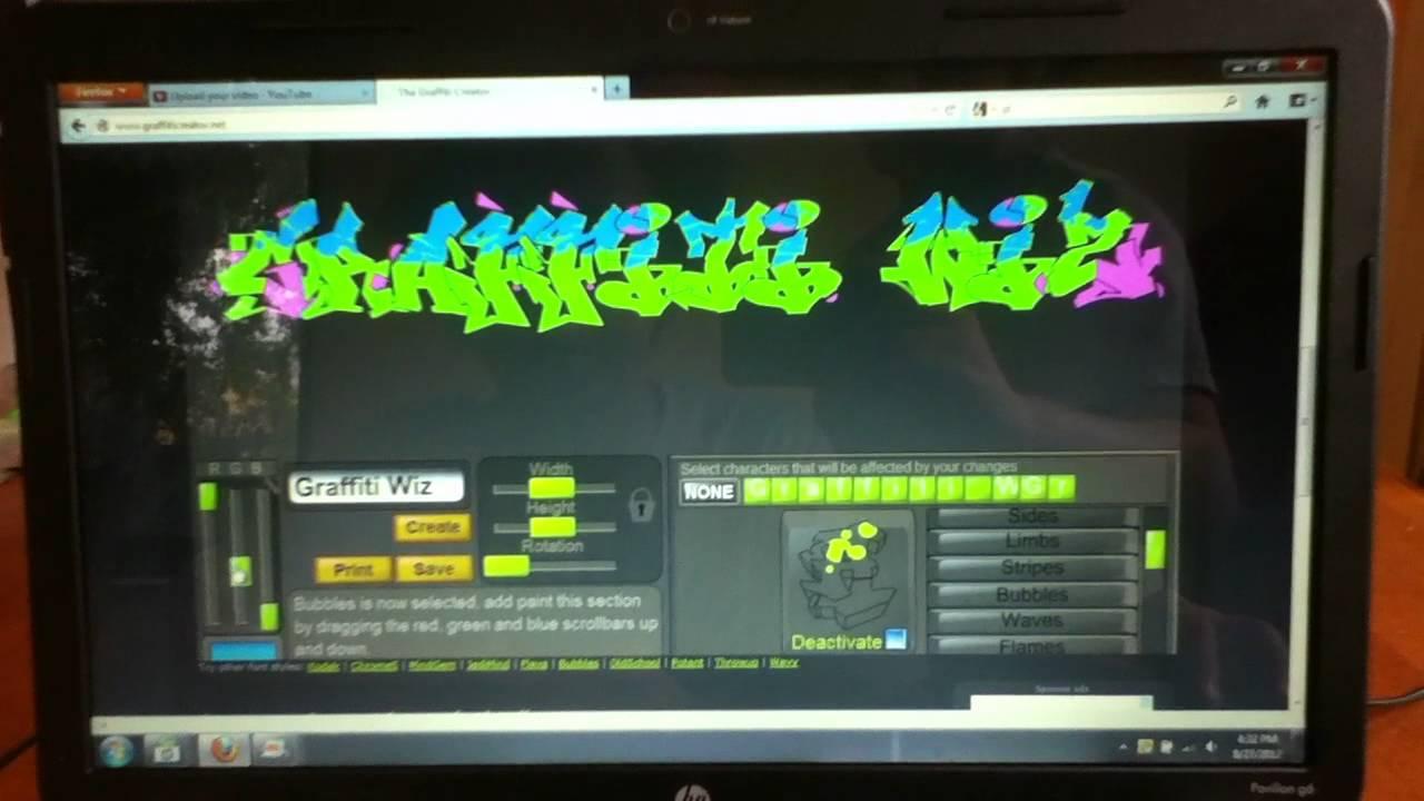 Graffiti creator how to save - How To Use The Graffiti Creator