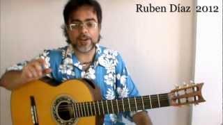 Modern Harmony in Flamenco (1) Ruben Diaz CFG studio / V7 to (#IV*) Guitar  Composition Lesson