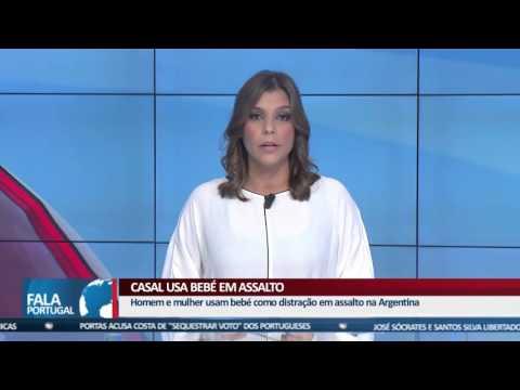 FALA PORTUGAL - Casal usa bebé para assalto