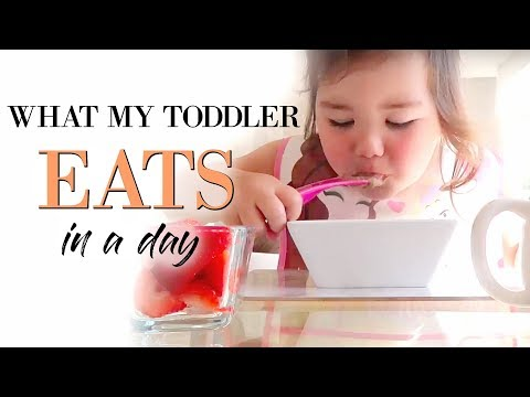 WHAT MY 3 YEAR OLD EATS IN A DAY | TODDLER MEALS