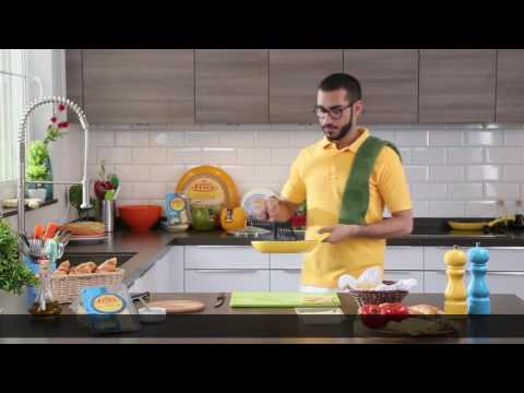 Engsub | Frico Arabia – Chef Badr Frico croissant Spinach with cheese Maasdam sandwich