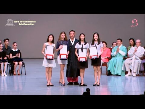 2017 X. Korea Internation Ballet Competition. Award Ceremony