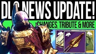 Destiny 2 | DLC NEWS UPDATE! New TRIBUTE! Lost Vendor, Broken Exotics, Iron Ritual, Trials u0026 More!