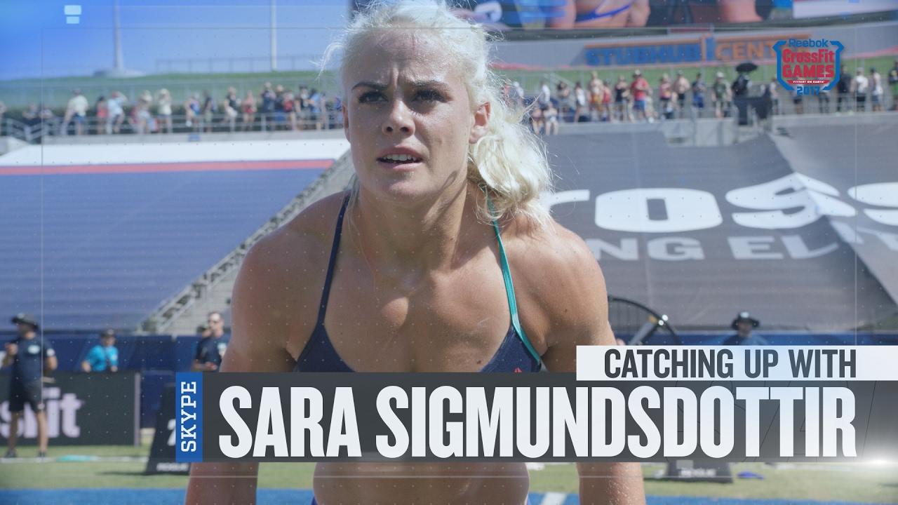 34a3db970 Update Show: Catching Up With Sara Sigmundsdottir - YouTube
