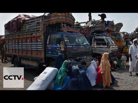 Les réfugiés afghans forcés à quitter le Pakistan