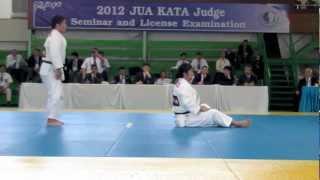 Repeat youtube video JUDO KATAME-no-KATA JPN 2012 ASIA JUDO kata championship